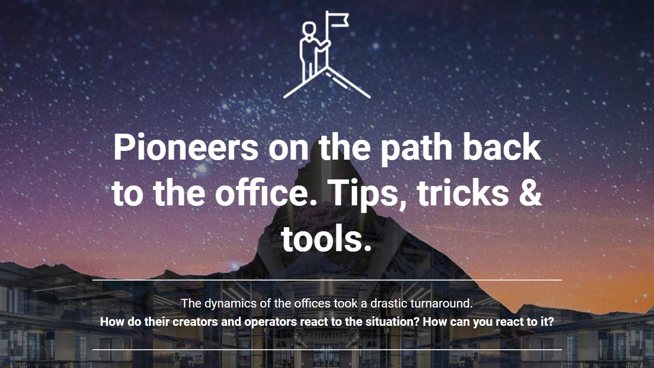 Web-Seminar-Aufzeichnung | Pioniere der Rückkehr in die Büros. Tipps, Tricks & Instrumente