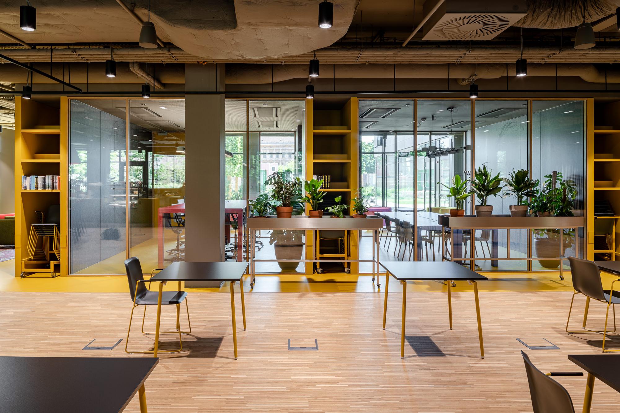Designjuwel unter den Coworking-Büros