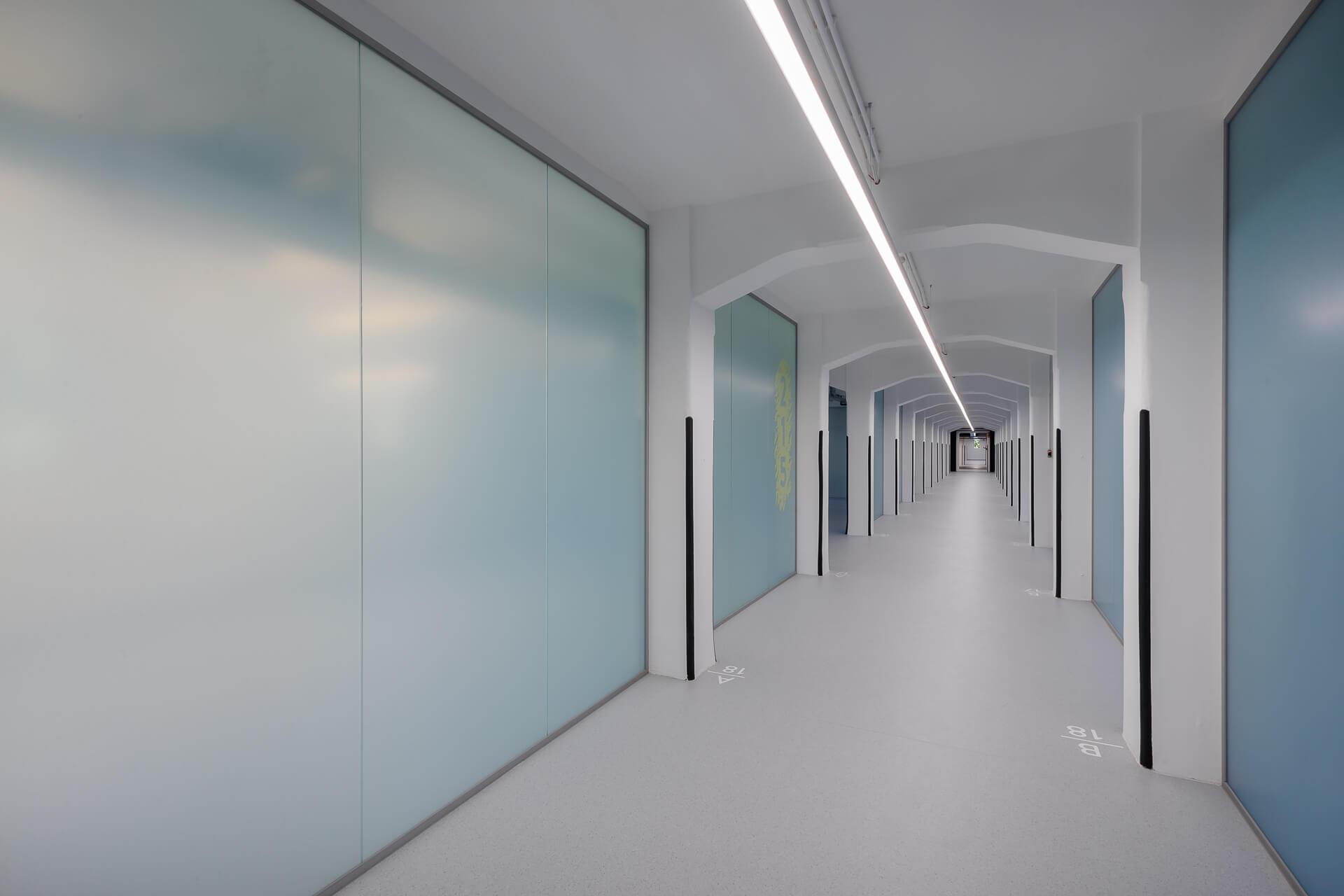 Büroräume für das Lechner Knowledge Center
